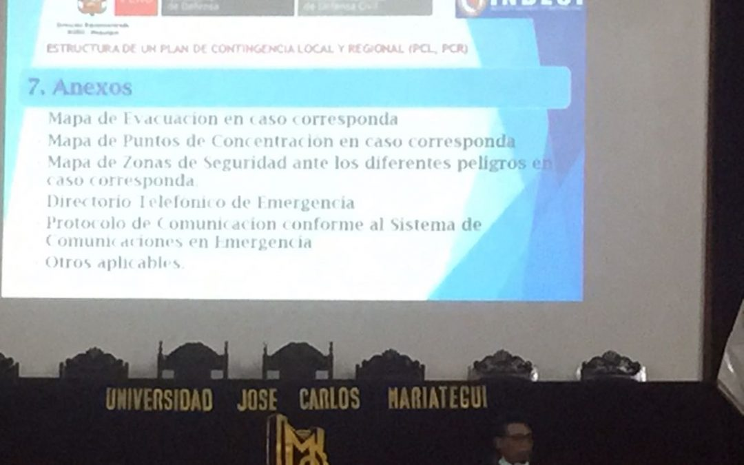 Capacitación e Inducción Institucional a los Docentes y Personal Administrativo de la UJCM