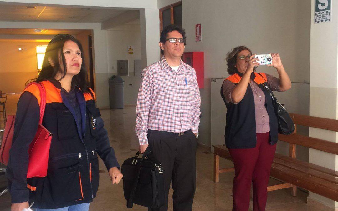 La Universidad José Carlos Mariátegui a través de su Comité de Seguridad y Salud en el Trabajo se reunió el día de hoy con el Instituto Nacional de Defensa Civil INDECI -MOQUEGUA