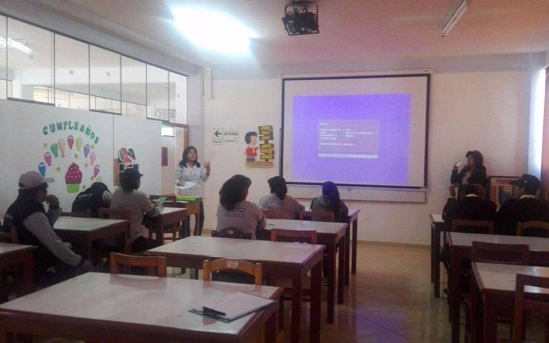La UJCM y El Programa de Residuos Sólidos programó Charlas en Ilo y Moquegua