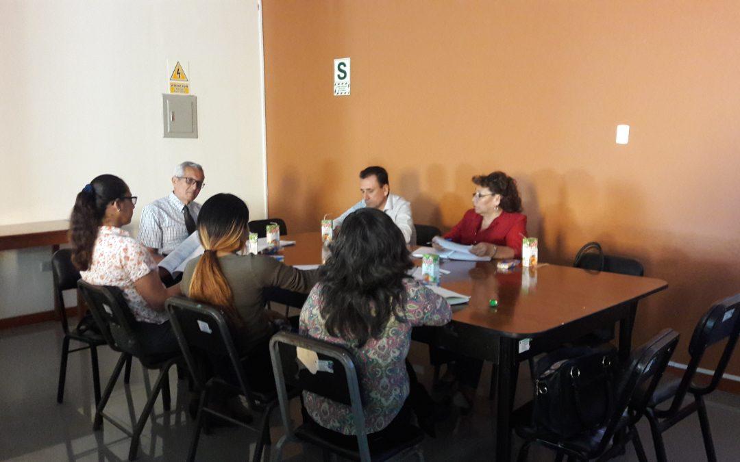 Reunión de sesión ordinaria del Comité de Seguridad y Salud en el Trabajo de el 31 de octubre del 2017