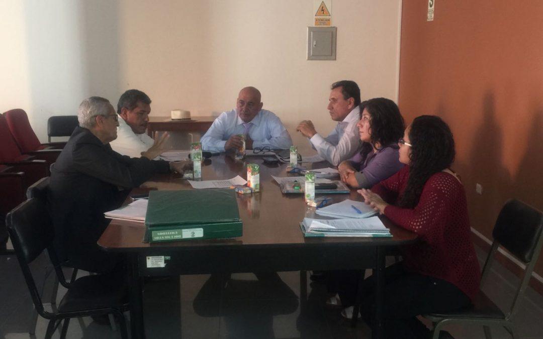 Reunión de sesión ordinaria del 2 de Noviembre del 2017 de la Comisión Técnica Ambiental