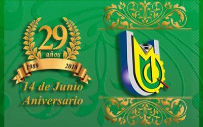 Programa General por el 29 Aniversario de la UJCM