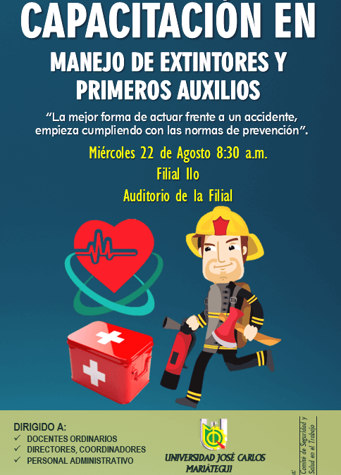 CAPAC. DE MANEJO DE EXTINTORES Y PRIMEROS AUXILIOS